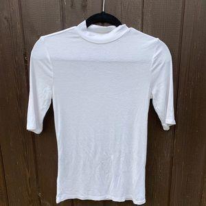 White Guess shirt